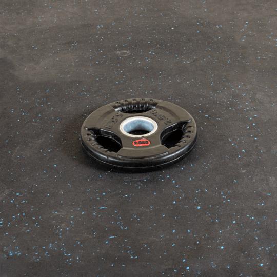 Treniraj.si gumirana disk utež 2.5 kg