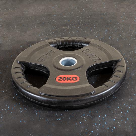 Treniraj.si gumirana disk utež 20 kg