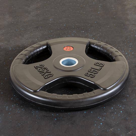 Treniraj.si gumirana disk utež 25 kg