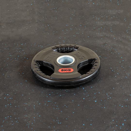Treniraj.si gumirana disk utež 5 kg