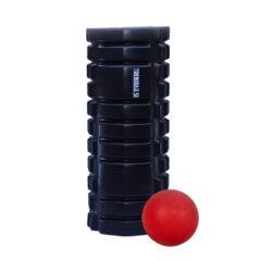 Treniraj.si masažni valj + masažna žoga